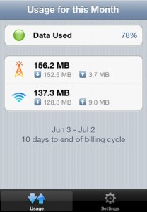 DataMan – Real Time Data Usage Manager