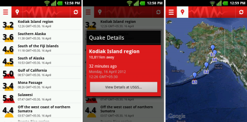 Best Earthquake Monitoring Android Apps